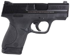 New Smith & Wesson M&P Shield 9mm $399 - http://www.gungrove.com/new-smith-wesson-mp-shield-9mm-399/