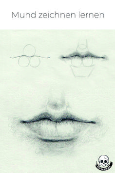 Learn to draw your mouth – This tutorial explains step by step how to draw a realistic mouth. draw – - Learn to draw your mouth - This tutorial explains step by step how to draw a re. Cool Art Drawings, Pencil Art Drawings, Realistic Drawings, Art Drawings Sketches, Eye Drawings, Art Illustrations, Drawing Techniques, Drawing Tips, Learn Drawing