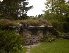 Meditation room at Findhorn