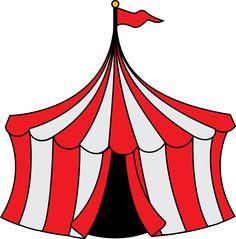 carnival clip art   Circus Party Invitation
