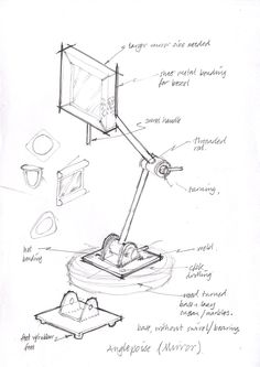 Anglepoise Lamp Or Mirror 1aa LampSketch DesignSketch IdeasLamp