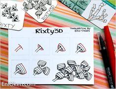 Rixty3D, a tangleation of Rixty — EniOken.com