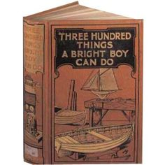 Three Hundred Things a Bright Boy Can Do Card