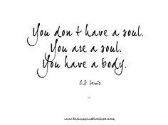 Soul by C.S Lewis