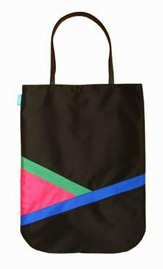 lukola handmade // Duża torba PGB (pink green blue) // Big Bag PGB