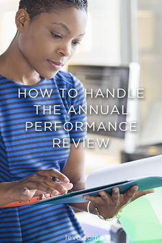 Your annual performance review