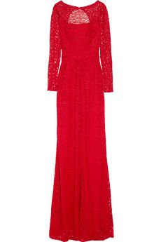 beautiful red lace dress by Issa.  I can just picture Kate Middleton in it!