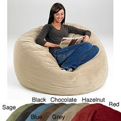 @Overstock - This large memory foam bean bag features a soft microsuede cover and a memory and polyurethane foam blend for proper support. A durable stain-resistant cover and multiple colors highlight this bean bag.http://www.overstock.com/Home-Garden/Large-Memory-Foam-Bean-Bag/2873879/product.html?CID=214117 $169.49