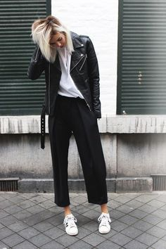 Style tips: culottes & sneakers | The Hunt