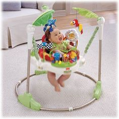 #Fisher-Price Rainforest Jumperoo : #InfantBouncers And Rockers : #Baby
