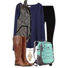 """""""class time"""" by tex-prep on Polyvore"""