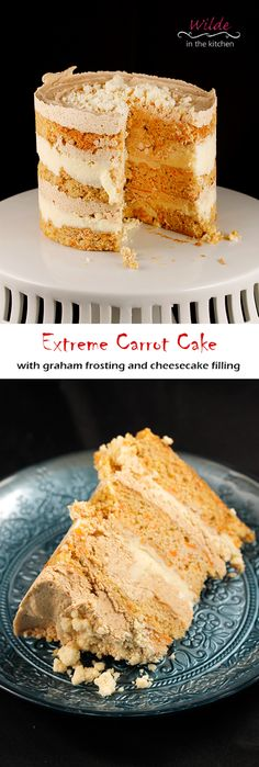 "Wilde in the Kitchen: Over the Top Carrot Cake (from ""Momofuku Milk Bar"" by Christina Tosi) Momofuku Recipes, Momofuku Cake, Momofuku Milk Bar, Christina Tosi, Baking Recipes, Cookie Recipes, Dessert Recipes, Bar Recipes, Easter Recipes"