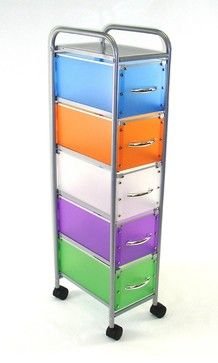 4D Concepts 5-Drawer Chest in Multi Color Drawers modern