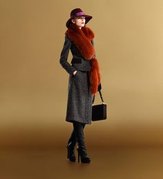 Vintage Film Noir Looks from Gucci  http://amandabethonline.blogspot.com/2011/11/vintage-film-noir-looks-from-gucci.html