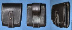Купить Поясная сумка - черный, кожа натуральная, сумка ручной работы, ручная работа