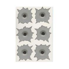 Bullet Shot Hole Sticker Illusion Novelty Practical Joke Fun Funny Joke Prank