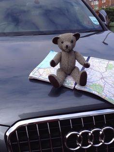 Ted planning his Great adventure http;//brackenonline.com