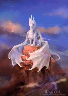 Mica's old Frost Dragon knew she was still alive and is searching for her. He will continue searching for her till he dies. But he found Mica one day. She remembered him and was with him as he died from one of Saourn's arrow shots.