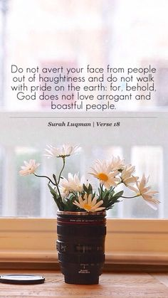 Arrogance is a blameworthy characteristic ...