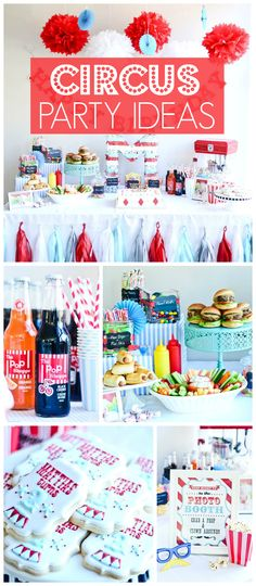 What an amazing vintage carnival birthday party! See more party ideas at CatchMyParty.com!