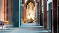 Transformation, renovation and revitalisation of the St. Martinus church in Voorburg (NL) – Room for architecture The St, Spiritual, Places, Interior, Room, Bedroom, Indoor, Rooms, Interiors