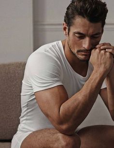 #GandyforAutograph collection for Marks and Spencer. Look at his arm!