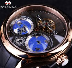 99.99$ Buy here - http://ali8yu.worldwells.pw/go.php?t=32683727273 - Forsining 2016 Earth Real Tourbillion Multi-dimensional Designer Mens Watches Top Brand Luxury Fashion Casual Automatic Watch