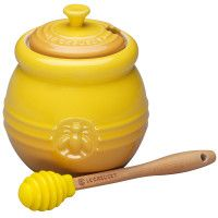 Classic honey pot. I've always wanted one of these!
