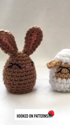 Make some cute Easter themed egg shaped animals with these free crochet patterns! These can be made as egg cosies or pencil toppers. #crochet #freecrochetpattern #crochetanimalpatterns #eastercrochetpatterns #kids #easter #giftideas #crochetalong Crochet Animals, Crochet Toys, Free Crochet, Easter Crochet Patterns, Modern Crochet Patterns, Easter Lamb, Easter Eggs, Easter Gifts For Kids, Crochet Projects