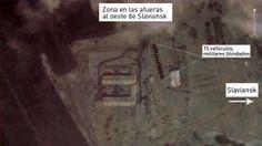 Piedra del Aguila.-: Fotos por satélite: Ucrania concentra gran cantida...