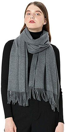 6c03601acebea MaaMgic Women's Large Soft Cashmere Feel Winter Scarf Cashmere Pashmina,  Pashmina Shawl, Light Scarves