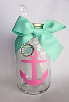 """/""""Southern Sipper/""""  Mommy/'s Sippy Cup  Mason Jar with Acrylic Straw"""