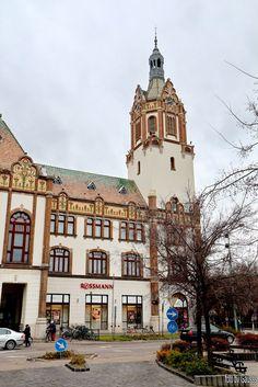 Kiskunfélegyháza, Hungary - Városháza.