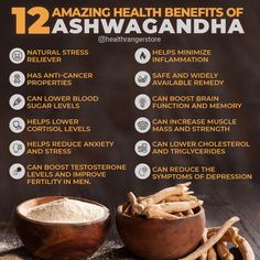 Ashwagandha (Withania somnifera), a popular adaptogenic herb, offers numerous health benefits for your body and brain. Health Facts, Health And Nutrition, Health Fitness, Natural Health Remedies, Herbal Remedies, Holistic Remedies, Health And Wellbeing, Health Benefits, Natural Medicine