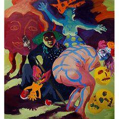 Wendy Sharpe (AUS) - The Witches 2015-16