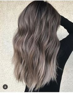 75 ombre hair color for grey silver hair balayage hair, hair Balayage Hair Grey, Ombre Blond, Grey Ombre Hair, Hair Color Purple, Hair Colors, Red Colour, Purple Grey, Ombre Rose, Ash Grey