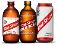 I am not a big fan of beer but when I am in the mood for one, I find a cold Red Stripe light really refreshing.....