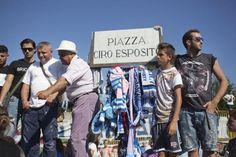L'ultimo saluto a Ciro Esposito - © Machi di Pace - Campania su Web