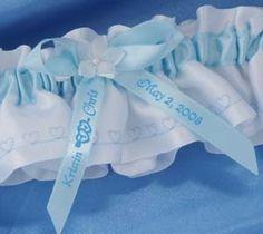 Personalized Garter Ribbon
