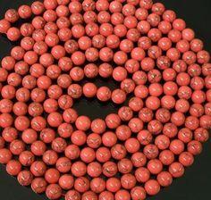 48inch Chinese Tibet Baby Pink Veins Jade Gemstone Beads Long Necklace Gift