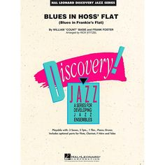 Hal Leonard Blues In Hoss Flat - Discovery Jazz Level 1.5