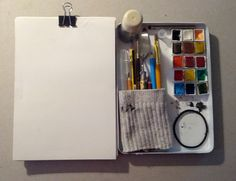 TRAVEL WATERCOLOUR & SKETCHING KIT