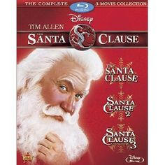 The Santa Clause 3-Movie Collection Blu-ray Bilingual: Amazon.ca: Tim Allen, Judge Reinhold, Wendy Crewson: DVD