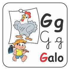 Alfabetizando com Mônica e Turma: Alfabeto - 4 tipos de letras