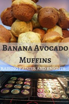 Try making these Banana Avocado Muffins with your little ones. Easy to make and tasty! Perfect for a school snack and easy to make nut & dairy free. Healthy School Snacks, Lunch Snacks, School Lunches, Bag Lunches, Work Lunches, Kid Snacks, Protein Snacks, Healthy Breakfasts, High Protein