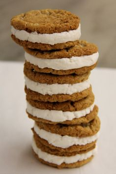 Homemade Oatmeal Cream Pies, via Sweet Legacy Gourmet on Etsy.