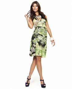 #VESTIDO AMAZONAS @Mit Mat Mama 79.00€ #moda #verano #palmeras #trend #primavera #madres #embarazo