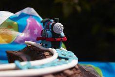 Thomas Train (mini) close up