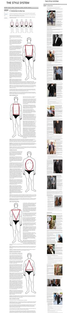 Style system for men