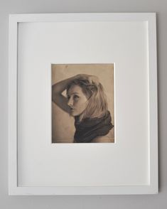 Excited to share the latest addition to my #etsy shop: 8x10 Platinum Print. Pictorialist Portrait. Unknown Photographer | Framed #art #photography #platinumprint #platinumpalladium #vintagephoto #pictorialphotograph #pictorialism